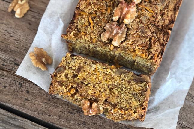 Pumpkin Walnut Breakfast Gluten-free Loaf Recipe