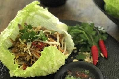 Jackfruit San Choy Bau Recipe