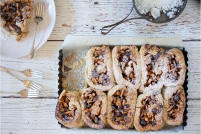 Apple & Cinnamon Gluten-Free Scrolls
