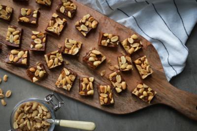 Peanut Butter Gluten-Free Vegan Fudge