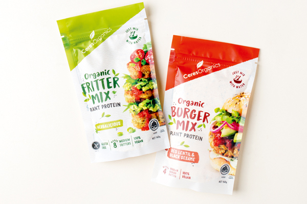Together Organic Burger Mix+ Fritter Mix