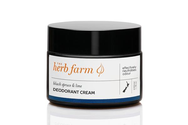 Black Spruce & Lime Deodorant Cream