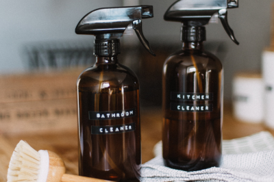 Natural Cleaning Essentials For A Low-Tox Home