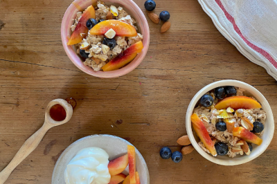 High Protein Bircher Bowl Recipe