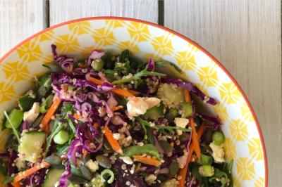 Quinoa Rainbow Salad Recipe