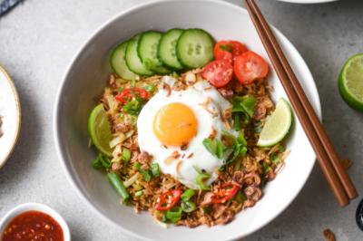 Easy Vegetarian Nasi Goreng Recipe
