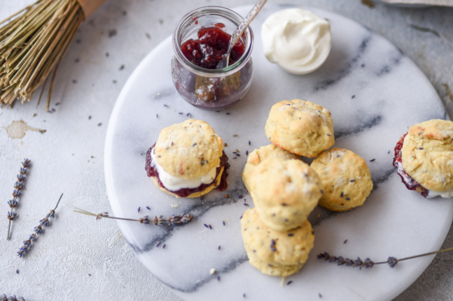Lavender Scone Recipe