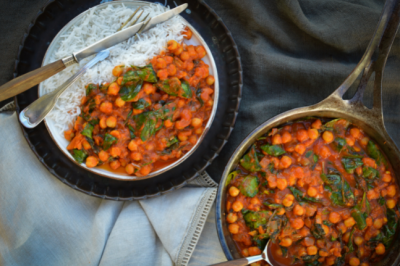 Pantry Basics Chickpea Curry Recipe