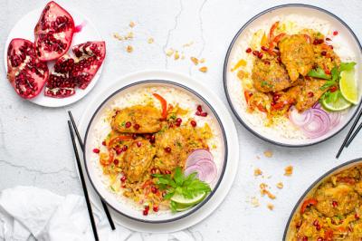 Persian Chicken With Pomegranate And Walnuts chicken recipes