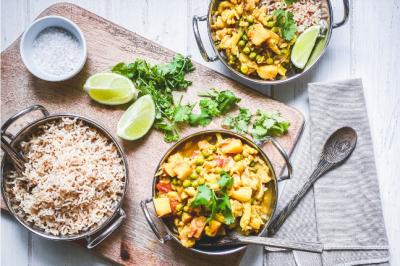 Tarkari Vegan Curry Recipe