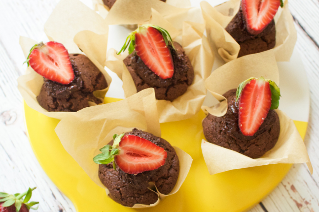 Gluten-free chocolate cakes