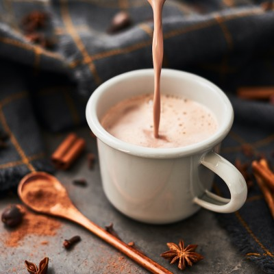 winter warming hot chocolate
