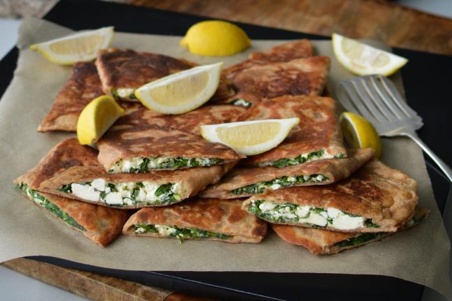 Easy Cheesy Green Toasted Cheese Pockets Recipe