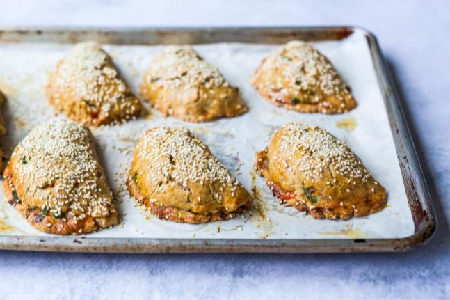 Vegetable Pasties With Spelt & Ghee Crust Recipe