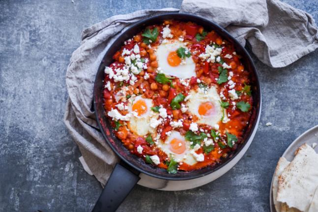 Persian Baked Eggs Recipe