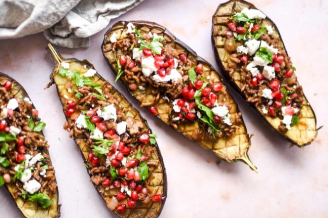 Persian Stuffed Eggplant Recipe