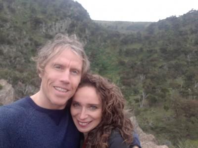 Maya and Mark: Happy together, living apart