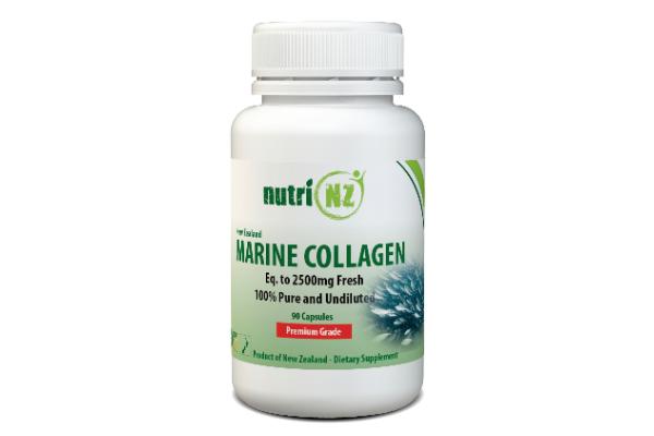 Marine Collagen, Vege Capsules Nu1590 1