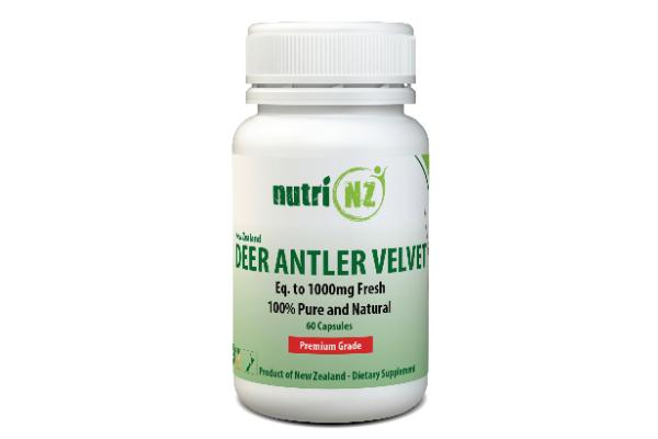 Deer Antler Velvet, Vege Capsules Nu1760 1
