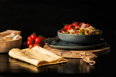 Emma Dean's Sweet Potato & Cashew Pasta Salad Recipe