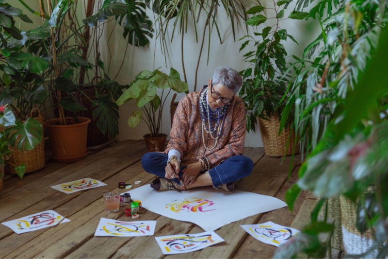 Drawing Back To Wellness With Art Therapy