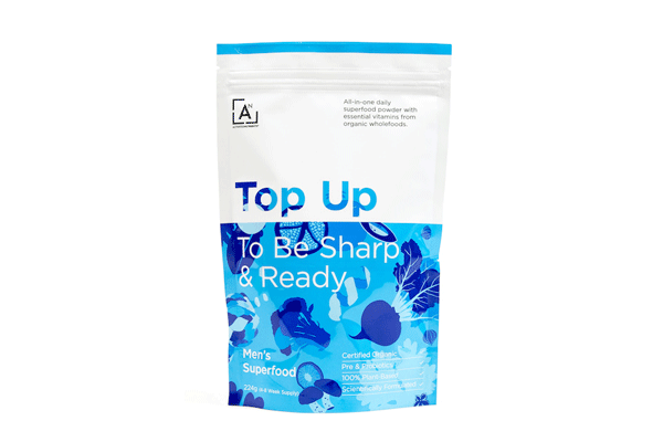 Top Up To Be Sharp & Ready