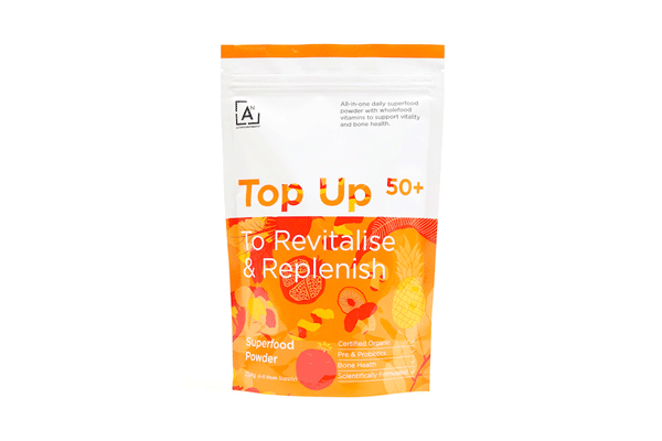 Top Up 50+ To Revitalise & Replenish