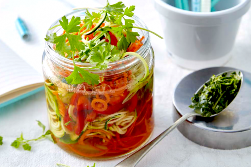 Veggie Soup In A Jar With Flavour Hits